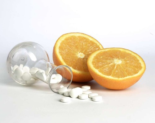 In overweight couch potatoes, vitamin C supplements mimic some exercise effects
