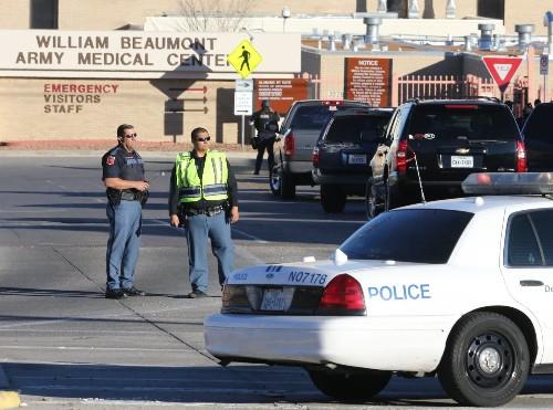 Shooter at El Paso Army hospital kills 1 victim; gunman also dead