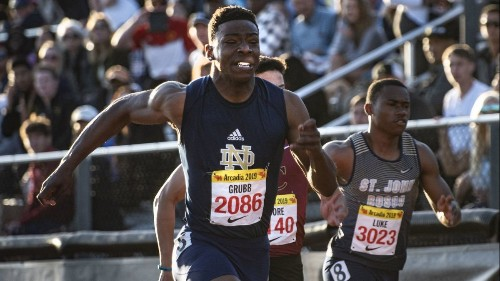 Christian Grubb, Kenan Christon set for sprint showdown at state track meet