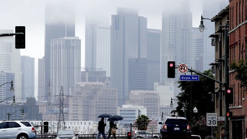 Rain from back-to-back storms to bring damp start to spring in Los Angeles