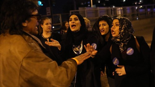 How black, Latino and Muslim college students organized to stop Trump's rally in Chicago - Los Angeles Times
