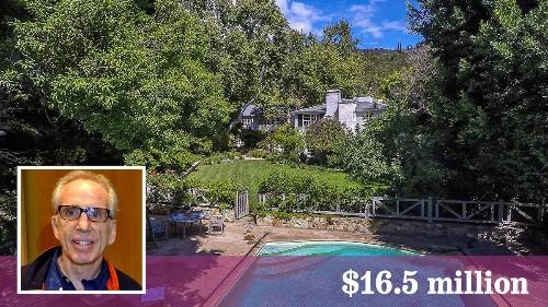 Spoofing aside, filmmaker Jerry Zucker asks $16.5 million for his Brentwood home