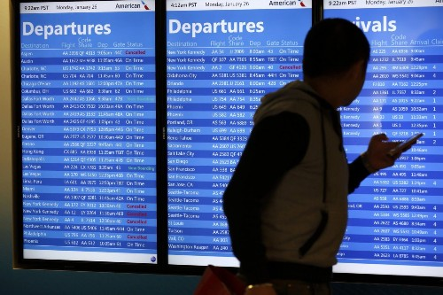 Technology to make air travel less stressful in the future, study says - Los Angeles Times