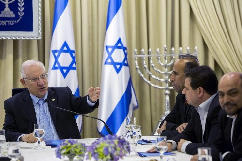 Israel's president begins meetings that will lead to new government