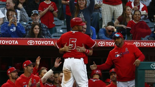 Angels' Albert Pujols has been in Mike Trout's shoes and has no regrets