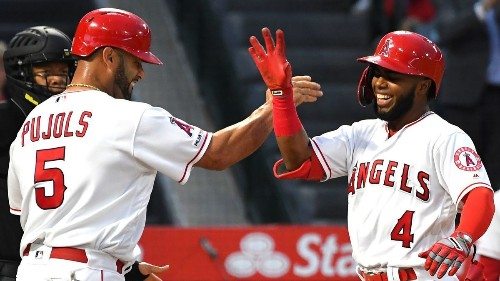Tommy La Stella's inside-the-park homer sparks Angels in win over Reds
