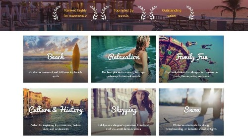 Best hotels for relaxation or shopping? Expedia's new way to search for your next luxury stay