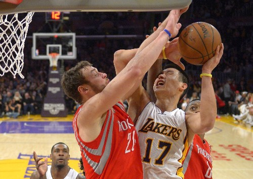 Lakers are no match for Rockets, lose 99-87