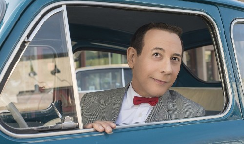 Paul Reubens' return as Pee-wee Herman? He meant to do that. Judd Apatow helped
