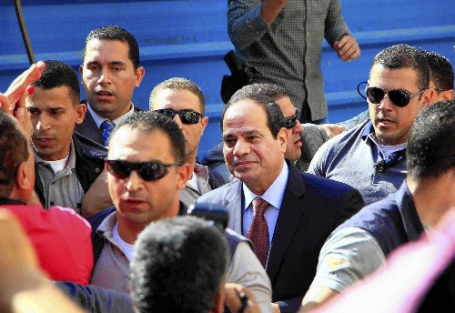 Egypt's presidential vote begins, with Sisi win virtually assured