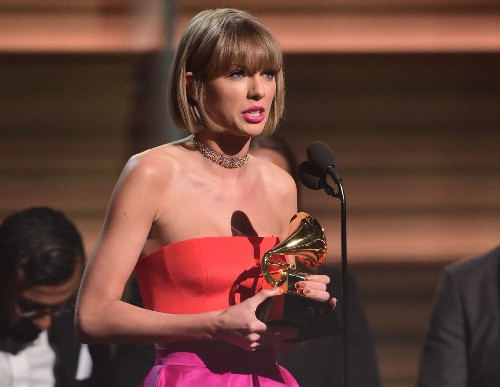 Taylor Swift shames Kanye West in empowering Grammys speech