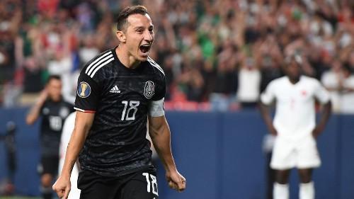 Gold Cup: Andres Guardado scores two as Mexico beats Canada