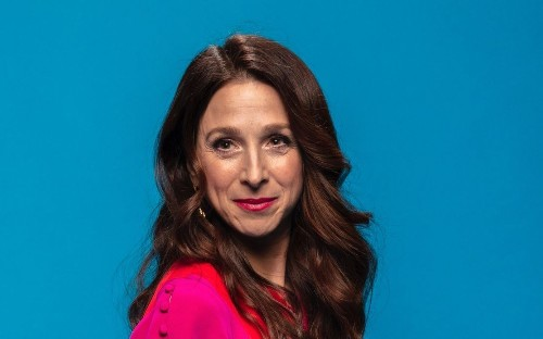 As Rose revisited her younger self in Paris, so too did actress Marin Hinkle