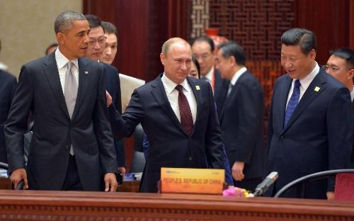 Obama, Putin exchange little more than pleasantries in China