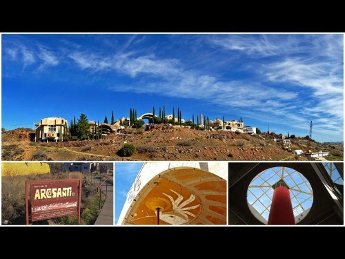 Roughing it in Arcosanti, Arizona, a sci-fi mini city said to have inspired 'Star Wars'