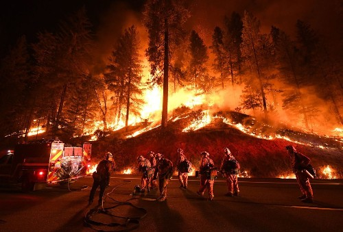 Trump opens new war with California over wildfires, seeking to slash payments for firefighting on federal land