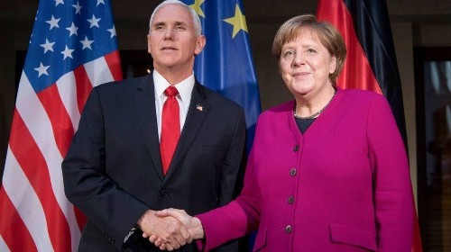 Americans should listen to Angela Merkel about the U.S. heading down a dark path