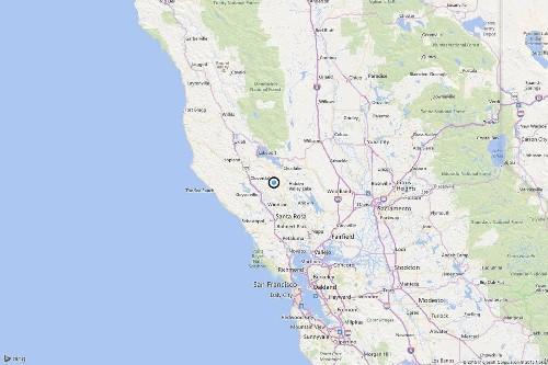 Earthquake: Magnitude 3.4 quake strikes near Cobb, Calif.
