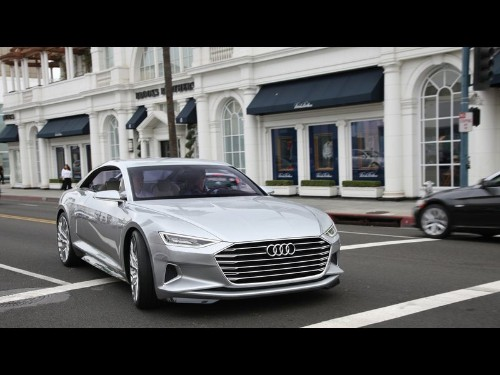 Audi Prologue concept car foreshadows a sultry, luxurious future