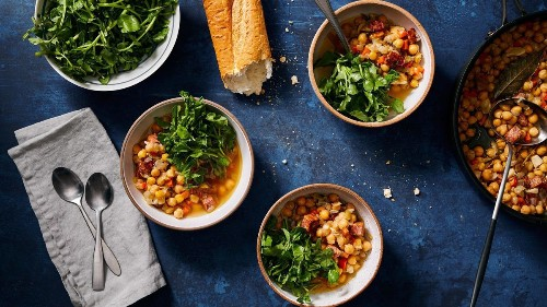 Home for Dinner: Slow-cooked chickpeas in no time at all