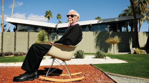 Architect William Krisel, who influenced the look of midcentury Palm Springs, dies at 92