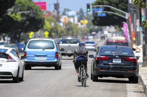 Halted Figueroa bike lane project riles cycling activists