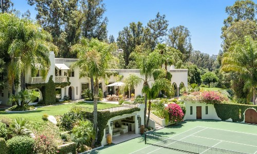 Beverly Hills compound once owned by Cher and Eddie Murphy gets a big price chop