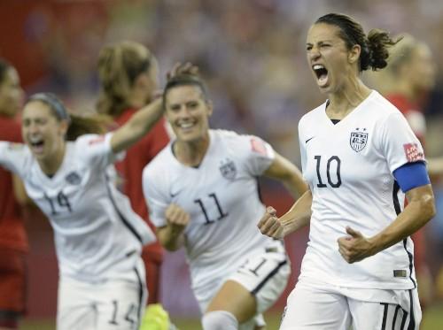 Carli Lloyd leads U.S. into Women's World Cup final