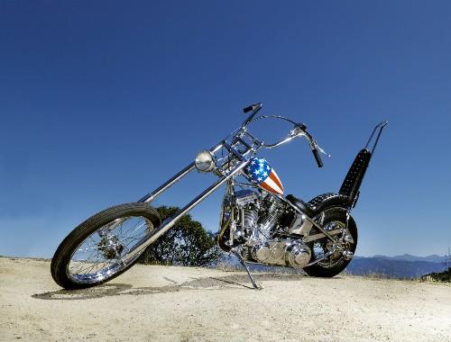 'Easy Rider's' 'Captain America' bike sold for $1.35 million