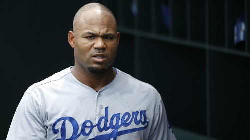 Dodgers place Carl Crawford on DL, call up Jamie Romak