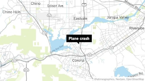 Plane crashes into prison in Norco, killing at least one person