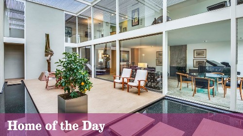 Home of the Day: A peek inside Case Study House No. 25 - Los Angeles Times
