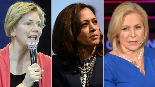 Running while female: 2020 presidential hopefuls test differing strategies