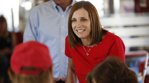 Arizona governor taps Martha McSally to fill Senate seat once held by John McCain - Los Angeles Times