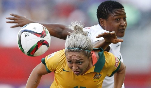Women's World Cup: Nigeria's Njoku suspended three games for elbowing - Los Angeles Times