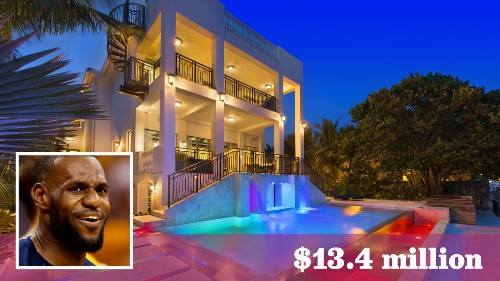 LeBron James sells his Florida waterfront compound for $13.4 million - Los Angeles Times