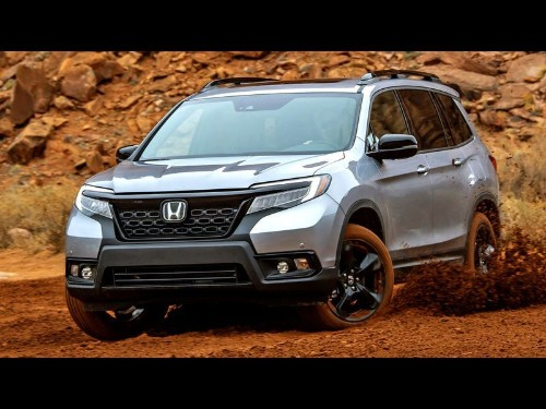 Honda's Passport is a big, blocky SUV that performs better on the road than off