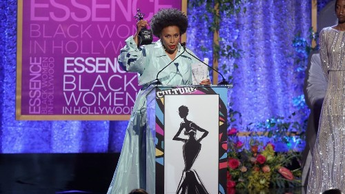 Jenifer Lewis addresses Jussie Smollett at Essence's Black Women in Hollywood luncheon