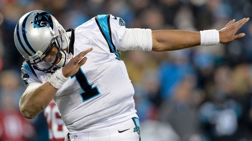Cam Newton says he won't be dabbing anymore