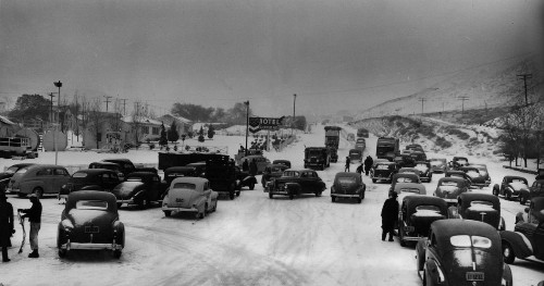 From the Archives: 1940 closure of the Ridge Route - Los Angeles Times
