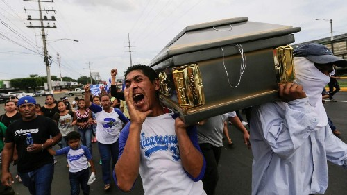 Nicaraguan priests condemning government repression face threats