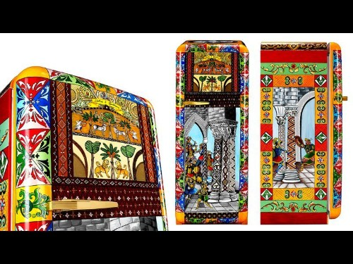 Dolce & Gabbana adds cool to the outside of one-of-a-kind fridges - Los Angeles Times
