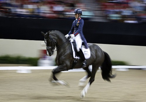 Charlotte Dujardin and Valegro dominate the dressage field