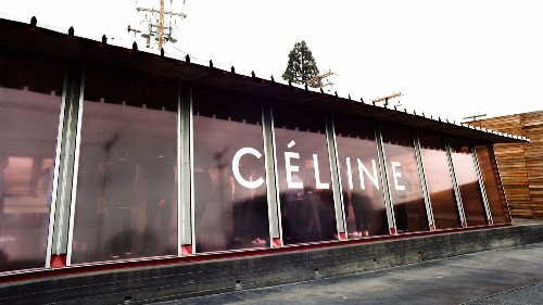 Céline debuts exclusive Maxfield pop-up shop for fall collection
