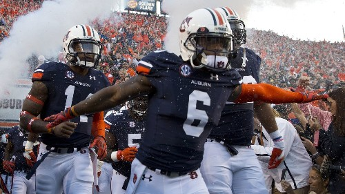 Auburn rises to the top of 'the Super 16' after turbulent week - Los Angeles Times