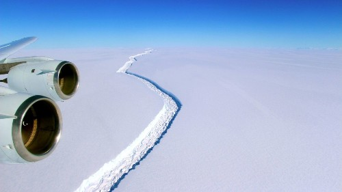 If climate change were a scam, scientists would be hyping up the Antarctic iceberg