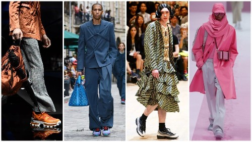 Gender-bending fashion and 5 other menswear trends for 2020