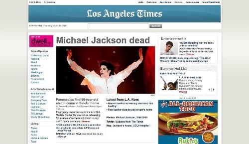 Essential California: How Michael Jackson's death broke the internet and legitimized TMZ