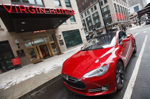 Virgin Hotels Chicago will add a Tesla S ride to your next visit - Los Angeles Times