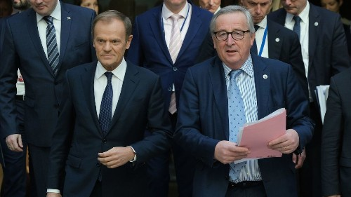 EU takes charge, forces Brexit deadlines on British Prime Minister Theresa May